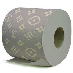 Louis Vuitton toilet paper? Ok, that's crazy