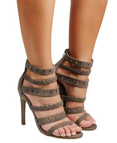 Halle - Brown Cut Out Design, Halle, Boho Chic, Vogue, Pairs, Stilettos, Brown, Gender, Shoes