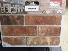 Texas Pecan brick
