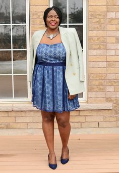 My Curves & Curls™ | A Canadian Plus Size Fashion blog: The Sidney Dress