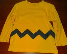 Easy DIY Charlie Brown Costume