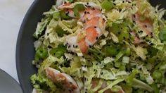 Savoy Cabbage Shrimp Salad recipe