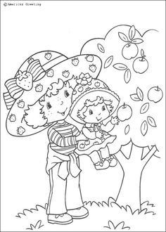... love these coloring pages from strawberry shortcake coloring pages