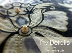 Little Details Sewing Tips | AllFreeSewing.com