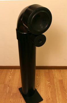 2 way loudspeaker pvc towers speakers pinterest speakers speaker plans and workshop storage. Black Bedroom Furniture Sets. Home Design Ideas