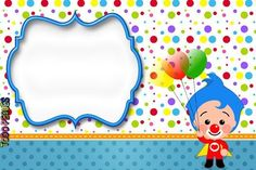 Plim Plim children's theme party - Celebrat : Home of Celebration, Events to Celebrate, Wishes, Gifts ideas and more ! Birthday Sweets, Party Sweets, Circus Birthday, Party Cakes, Happy Birthday, Clown Party, Party Decoration, Ideas Para Fiestas, Baby Party