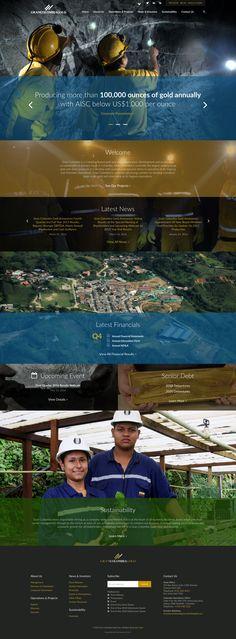 Gran Colombia Gold - Corporate Responsive