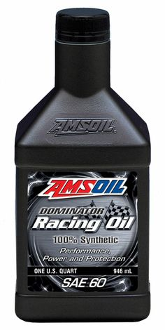 AMSOIL 15w50 racing oil design to provide superior protection for high horsepower engine