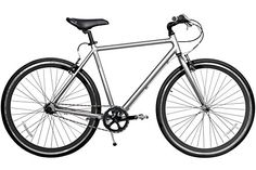 Gama Bikes Speed Cat 700c Dark Chrome 3 Speed Internal Shimano Urban Commuter Road Bicycle, 21-Inch frame, Silver -- You can find more details by visiting the image link.