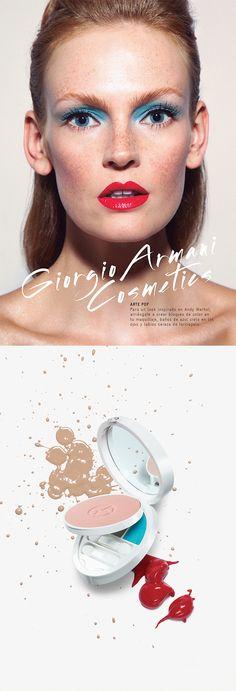 Look de maquillaje inspirado en Andy Warhol. - Giorgio Armani Cosmetics - El Palacio de Hierro