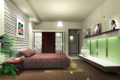 home design interiors - bedroom