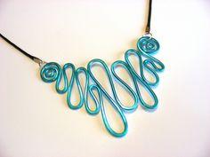 Hammered Necklace .