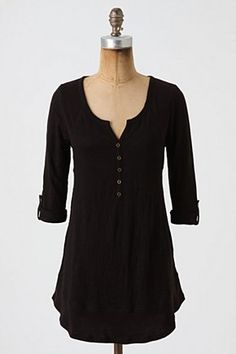 I love, love, love tunics like this!