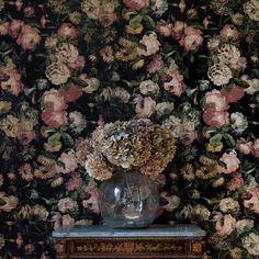 House of Hackney blommig tapet