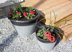 DIY: Giving terracotta pots a second life! (Click on image to go to link)