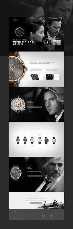 """Check out this @Behance project: """"IWC Portofino"""" https://www.behance.net/gallery/20743493/IWC-Portofino"""