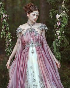 "fireflypath: ""#Repost @agnieszka_lorek ・・・ @juliamodzelewska D'VISION's model in costume from @fireflypath in my fantasy dimension #agnieszkalorek #fairy #fantasy #fairytale #divisionmodel #divine #princess #pretty #dress #longdress #gown..."