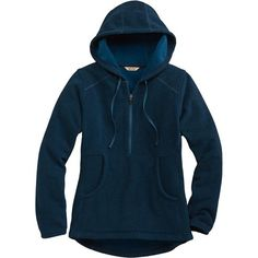 Two Harbors 1/2 Zip Polartec Fleece Pullover | Blue Jay | Duluth