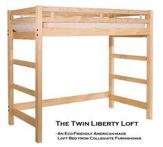 free loft bed design plans wooden bunks lofts futon - Loft Bed Frame