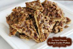 Melissa's Southern Style Kitchen: Sea Salted-Cinnamon Graham Cracker Pralines