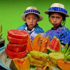 FRUIT STAND - GUATEMALA