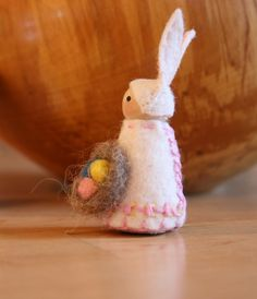 easter bunny peg doll gnome fairy