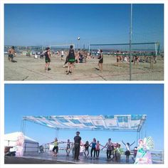 Week end si sport sulle spiagge di Igea Marina: danza e beachvolley