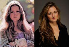 Famous Lookalikes: Bonnie Raitt - Grace Gummer (Images of Bonnie Raitt and Grace Gummer provided by Getty Images)