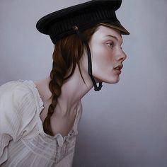 Mary Jane Ansells Gemälde von mysteriösen jungen Frauen