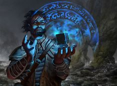 File:850x621 983 Sea Gate Oracle 2d fantasy spell magic wizard picture image digital art.jpg