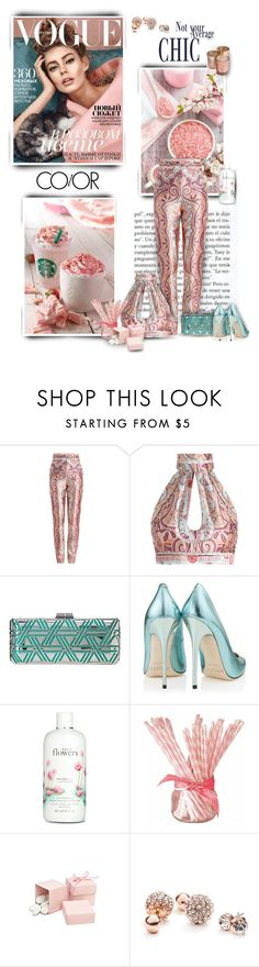 """""""Not Your Average"""" by pdcohen ❤ liked on Polyvore featuring Bebe, Zimmermann, BCBGMAXAZRIA, Jimmy Choo, Trilogy, philosophy and GUESS"""