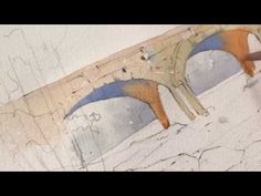 How to Paint Shadows in Watercolor with Thomas Schaller: Landscape Painting Preview - YouTube