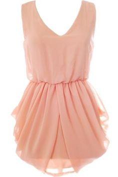 Peach Persuasion Dress. wannnnt