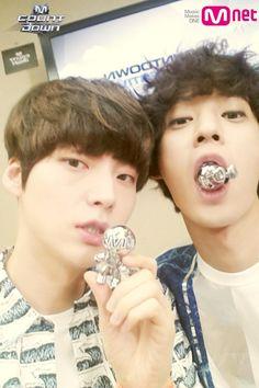 Ahn Jae Hyun and Jung Joon Young
