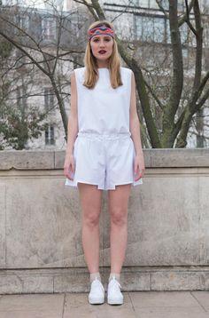 Combi-Short Blanche – Jan'n June #modeethique #jannjune #ethnique #minimalist