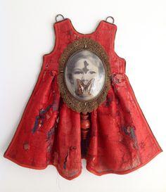 Karin van der Linden ~ Assemblage dress  *jurk* |