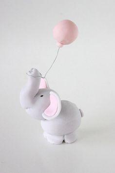 Pequeño Elefante y globo Tutorial descargables