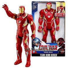 Marvel Avengers Titan Hero Series Beam Blast Iron Man Action Figures Toys 2014