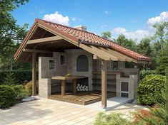 backyard designs – Gardening Ideas, Tips & Techniques Rustic Outdoor Spaces, Outdoor Living, Gazebo, Pergola, Pavillion, Carport Designs, Exterior Remodel, Outdoor Projects, Backyard Patio