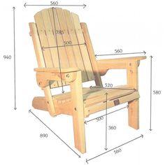 fauteuil adirondack pliant de jardin en bois muskoka westport chair