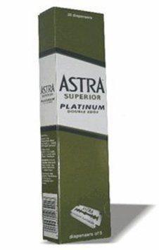 0100 Astra Superior Premium Platinum Double Edge Safety Razor Blades