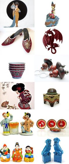 Asian Flare by Pat on Etsy--Pinned with TreasuryPin.com