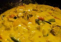 Currys zöldséges csirke Kenny konyhájából