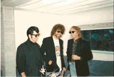 Roy Orbison Jeff Lynn and Tom Petty 1980s