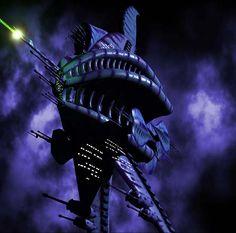 Babylon 5 - Vaisseau Minbari