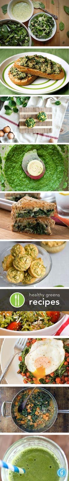Healthy Greens Recipes