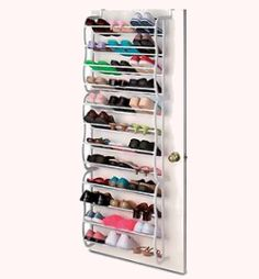 door shoe rack