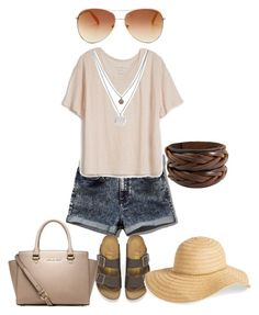 """""""Floppy Hats"""" by truedirectioner-belieber ❤ liked on Polyvore featuring Abercrombie & Fitch, Fine Collection, Birkenstock, Michael Kors, Tommy Hilfiger, David & Young and Kenneth Cole"""