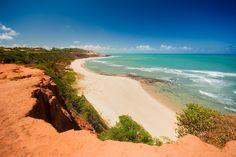 Praia do Amor, em Tibau do Sul - Rio Grande do Norte <3 Rio Grande Do Norte, Orlando, Places To Visit, Beach, Water, Outdoor, Holidays, Brazil, Surfing