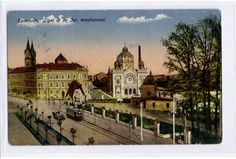 Timisoara 1917 - SINAGOGUE